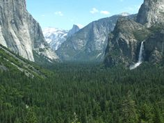 Yosemite - one of the falls