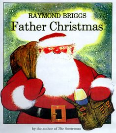 #awbchallenge Father Christmas by Raymond Briggs - as reviewed by Rabbitin