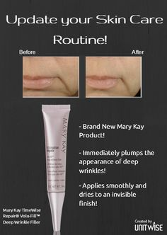 Update your Mary Kay Skin Care Routine! Feel free to share with your clients and…
