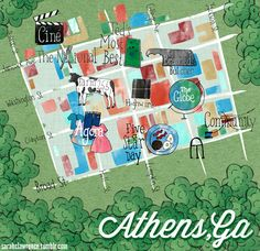 Design*Sponge Guide to Athens, GA Guide -- they did a pretty good job, didn't leave out too much @Design*Sponge