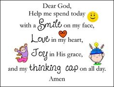 Discover and share Good Morning Prayer Quotes. Explore our collection of motivational and famous quotes by authors you know and love. Morning Prayer For Kids, Morning Prayers, Kids Prayer, Prayer Ideas, Prayer Quotes, Lunch Prayer, Meal Prayer, Hug Quotes, Happy Morning