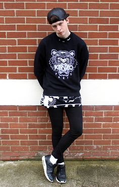 Kenzo Tiger Sweater, Ktz 4 Card Tee, Nike Air Maxim 1 Tier Zero, Asos Leather Cap