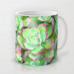 Succulents  Mug by Lisa Argyropoulos - $15.00