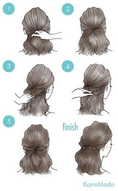 Kapsels voor halflang/lang haar Pin via Dromenvangers-Winkeltje The post Kapsels voor halflang/lang haar Pin via Dromenvangers-Winkeltje appeared first on Frisuren. Medium Long Hair, Medium Hair Styles, Curly Hair Styles, Short Hair Styles Easy, Indian Hairstyles, Braided Hairstyles, Hairstyles 2016, Wedge Hairstyles, Ladies Hairstyles