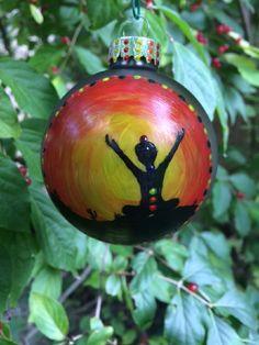 Yoga Mat Christmas Ornament makes an adorable addition to your