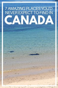 There's more to Canada than mountains, moose and maple syrup! Here are 7 amazing places that challenged my preconceived ideas of Canada Ski Banff, Yukon Territory, Victoria Island, Visit Canada, How To Speak French, Prince Edward Island, Vancouver Island, Archipelago, Canada Travel