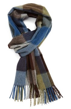 Nordstrom 'New Buffalo' Cashmere Scarf available at #Nordstrom