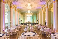 Every classic romance story should include a ballroom. That might just be our opinion, but we think that Joel and Julie would agree. You may recognize this weeks bride and groom from their amazing … Ballroom Wedding, Ballrooms, Atlanta Wedding, Becca, Special Events, Chandelier, Romantic, Table Decorations, Baby