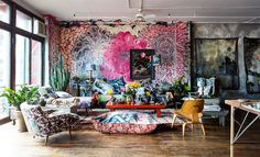 A couple of neat artists' and designers' homes
