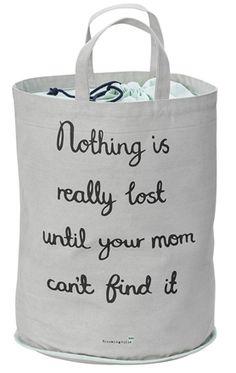 Childrens Fabric Storage Toy Laundry Bag, 'Nothing Is Lost' – Beaumonde Kids Storage, Closet Storage, Toy Storage, Storage Baskets, Storage Organization, Nursery Storage, Fabric Bins, Fabric Storage, Decorative Storage