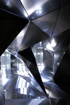 Lobby, Hotel Puerta de America, Madrid, walls by Plasma Studio _