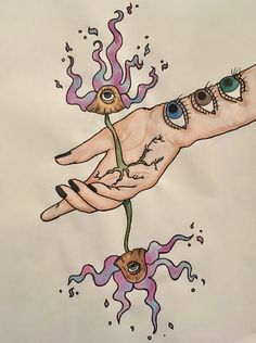 GROWTH  #watercolor #watercolorpainting #psychedelicwatercolor #psychedelic #psychedelicpainting #psychedelicart #trippy #trippypainting #trippywatercolor #trippyart #decor #etsy #artforsale #painting #gouache #mushroom #thirdeye Trippy Painting, Hippie Painting, Gouache Painting, Painting & Drawing, Watercolor Paintings, Trippy Photos, Trippy Drawings, Art Drawings, Unicorn Farts