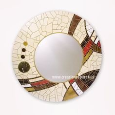 #espejo a pedido #mosaico #hechoenchile #design #diseñopropio #handmade #elplacerdecrear #mosaic #tonostierra