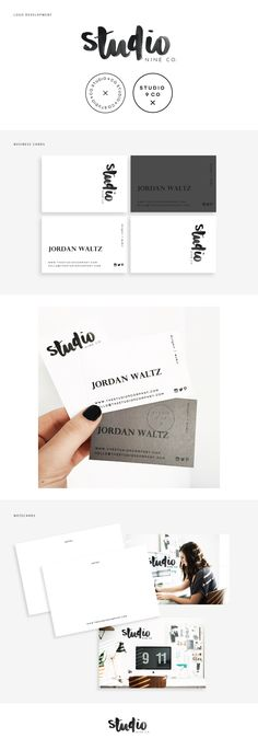 Studio 9 Branding Collateral