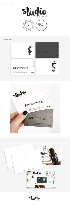 Studio 9 Branding Collateral
