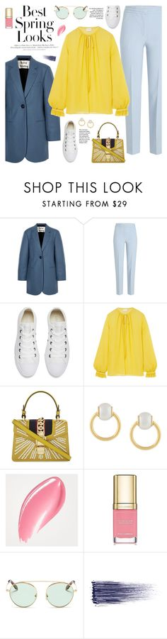 """Vacay Outfit"" by sproetje ❤ liked on Polyvore featuring Acne Studios, Victoria, Victoria Beckham, Converse, Giambattista Valli, Gucci, Dsquared2, H&M, Burberry, Dolce&Gabbana and Victoria Beckham"