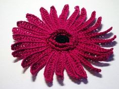 Crochet Gerbera Daisy  365 Flower Bouquet Project – PATTERN DIRECTORY,  the landing page of my blog contains links to all the flower croch...