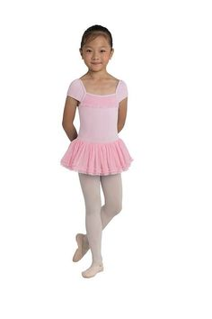 c60d1fb952f01 Danshuz Cap Sleeve Dress La Dance, Kids Dance Wear, Toddler Dance, Black  Leotard