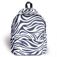 Harajuku Straßen Lässige Zebra Muster wasserfestem-Schule-Beutel Reisen Rucksack from Atwish.com.<3<3<3