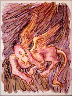 'Schlafender+Vogel+Greif+3'+von+funkyzoo+bei+artflakes.com+als+Poster+oder+Kunstdruck+$16.63