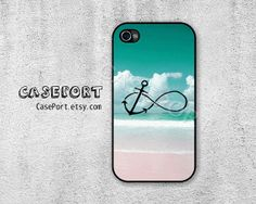 Infinity Anchor iPhone 4 Case iPhone 4s Case iPhone 4 by CasePort, $6.99