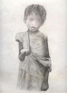 child poverty sketch - Google Search