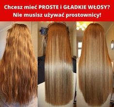 Chcesz mieć PROSTE i GŁADKIE WŁOSY? Nie musisz używać prostownicy! Beauty Care, Beauty Hacks, Hair Beauty, Hair Secrets, Hair Tattoos, Homemade Skin Care, Beautiful Long Hair, Hair Hacks, Healthy Hair