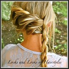 Bohemian Rope Twist - girls hair how to's