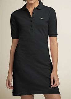 Lacoste Short Sleeve Polo Dress