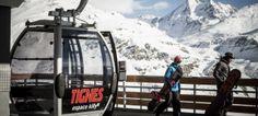Dos snowboarders rescatados en el glaciar de Tignes