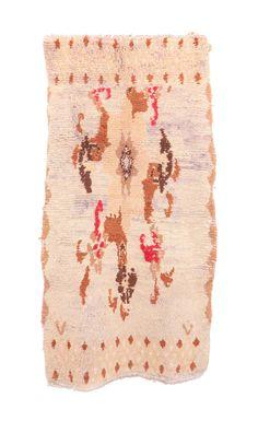 """Vintage Boujad Moroccan Rug, 3'2"""" x 5'9"""" feet"""