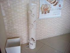 Coluna em cano de pvc 150mmx1,20m
