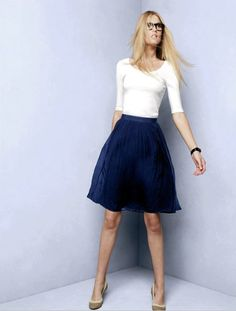 J.Crew Crinkle Chiffon Skirt--