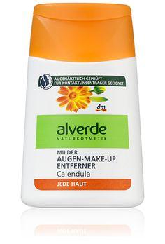 alverde Augen Make-Up Entferner Calendula