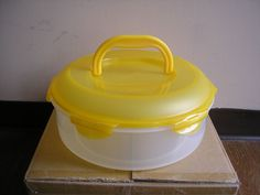 HSM954H LOCK AND LOCK 23 CUP PIE CAKE STORAGE CONTAINER WITH HANDLE #lockandlock