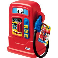 Gas Pump - cute idea for Cannon's new ride