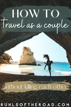 We've spent thousands of hours traveling together, and have learned a thing or two on the way. Not going to lie, we've gotten into it before. Things have been thrown, insults hurled, doors slammed. But we are still here today! And we are ready to share our secrets for how to travel as a couple without killing each other Travel Info, Packing Tips For Travel, Travel Goals, Travel Hacks, Travel Advice, Travel Ideas, Romantic Weekend Getaways, Romantic Destinations, Romantic Travel