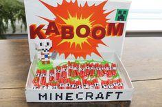 How to: Een super leuke en simpele Minecraft TNT traktatie - Go or No Go, Little Boys, Birthdays, Deco, Party, Om, Google, Image, Seeds, Anniversaries