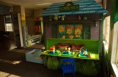 Play Center Storage Cabinet - tropical - kids - other metros - CustomMade
