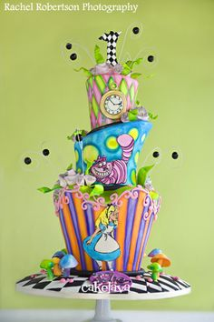 cakelava: A Stroll Down Memory Lane - 2010. Part 1. Whimiscal themed cake
