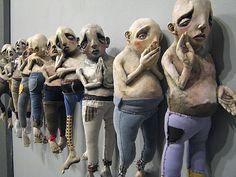 Many - Derek Weisberg sculpture