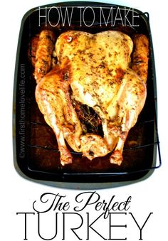 Awesome Tips for The Perfect Thanksgiving Turkey