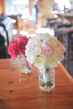 Bridal bouquet by Brandi