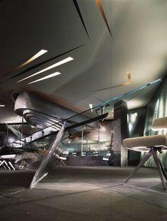 Moon Soon Restaurant - Design - Zaha Hadid Architects