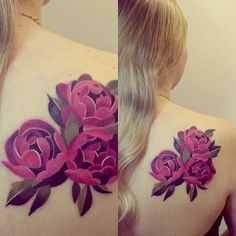 .@Sasha Hatherly Unisex | #peonies #peony #flowers #tattoo  | Webstagram