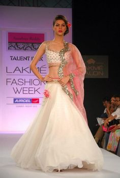 Anushree Reddy at Lakme Fashion Week Summer?Resort 2013 Mumbai