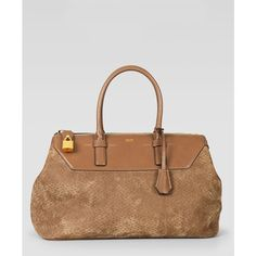 Tom Ford Peccary Medium Petra Bag ($3,290) via Polyvore