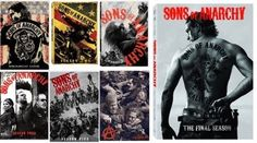 Sons of Anarchy Seasons 1-7 DVD Set