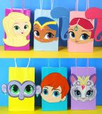 DIY Shimmer and Shine Party Theme Favor Bags