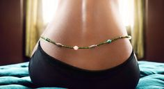Waist Beads, so sexxy! I learned about these when I was in Africa, bought some home too!
